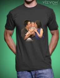Süblimasyon Baskılı Tişört