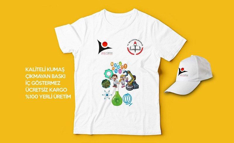 Tübitak Bilim Fuarı Tişörtleri