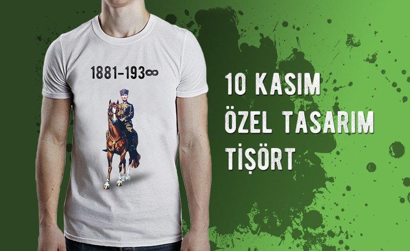 10 Kasım Tişörtleri