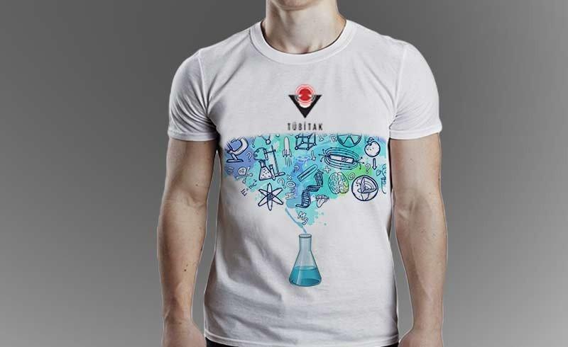 Tübitak Bilim Fuarı Tişört