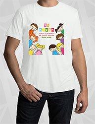 23 Nisana Özel Baskılı Tişört